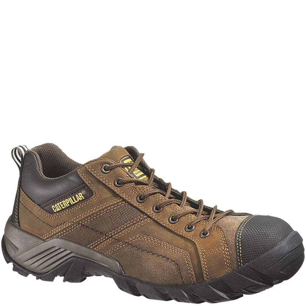 Image for Caterpillar Men's Argon CT Safety Shoes - Dark Brown from bootbay