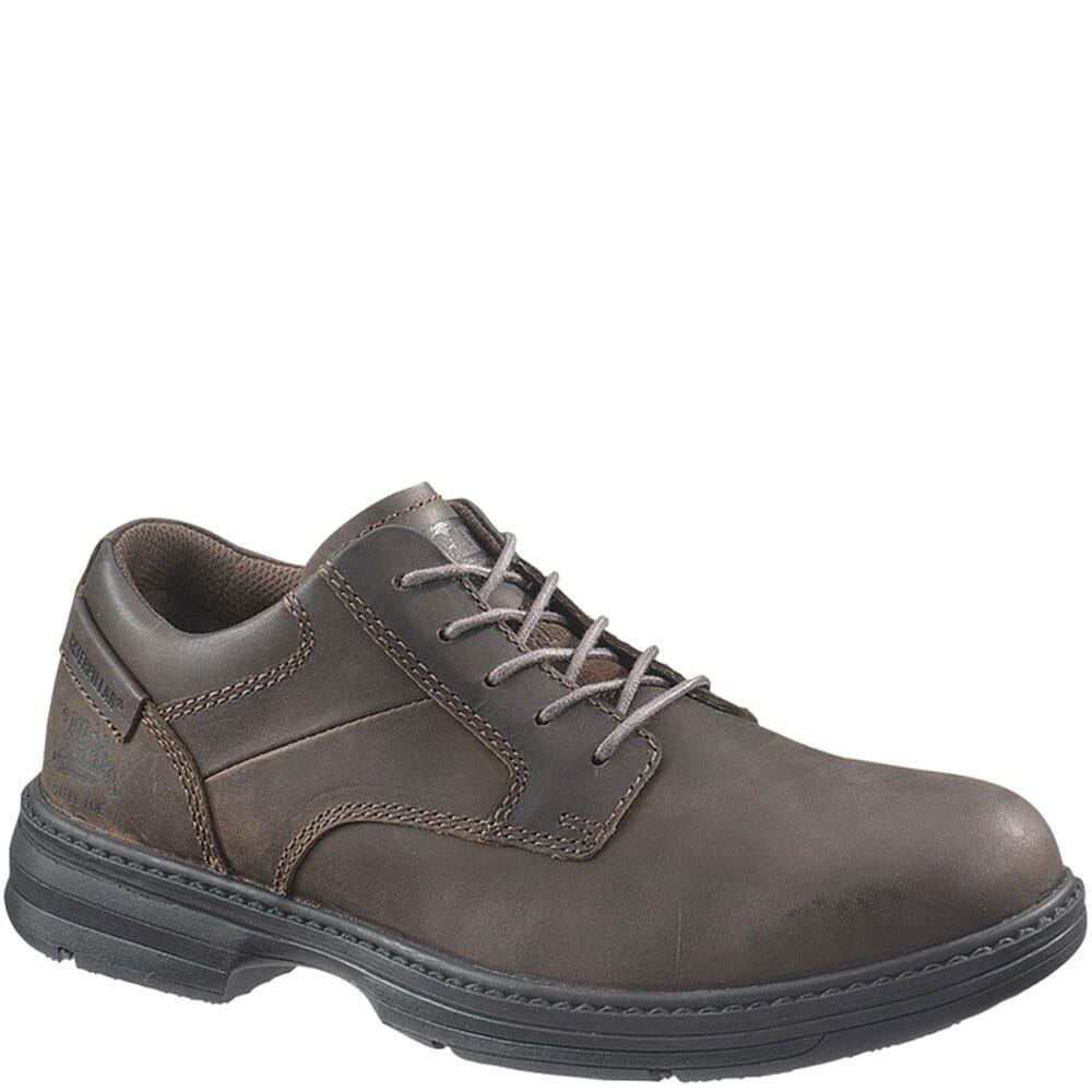 Image for Caterpillar Men's Oversee ESD Safety Shoes - Brown from bootbay