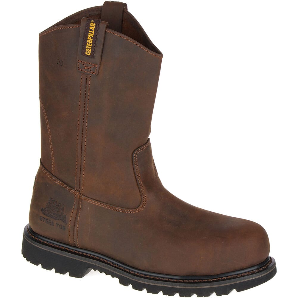 Image for Caterpillar Men's Edgework SD Safety Boots - Mahogany from bootbay