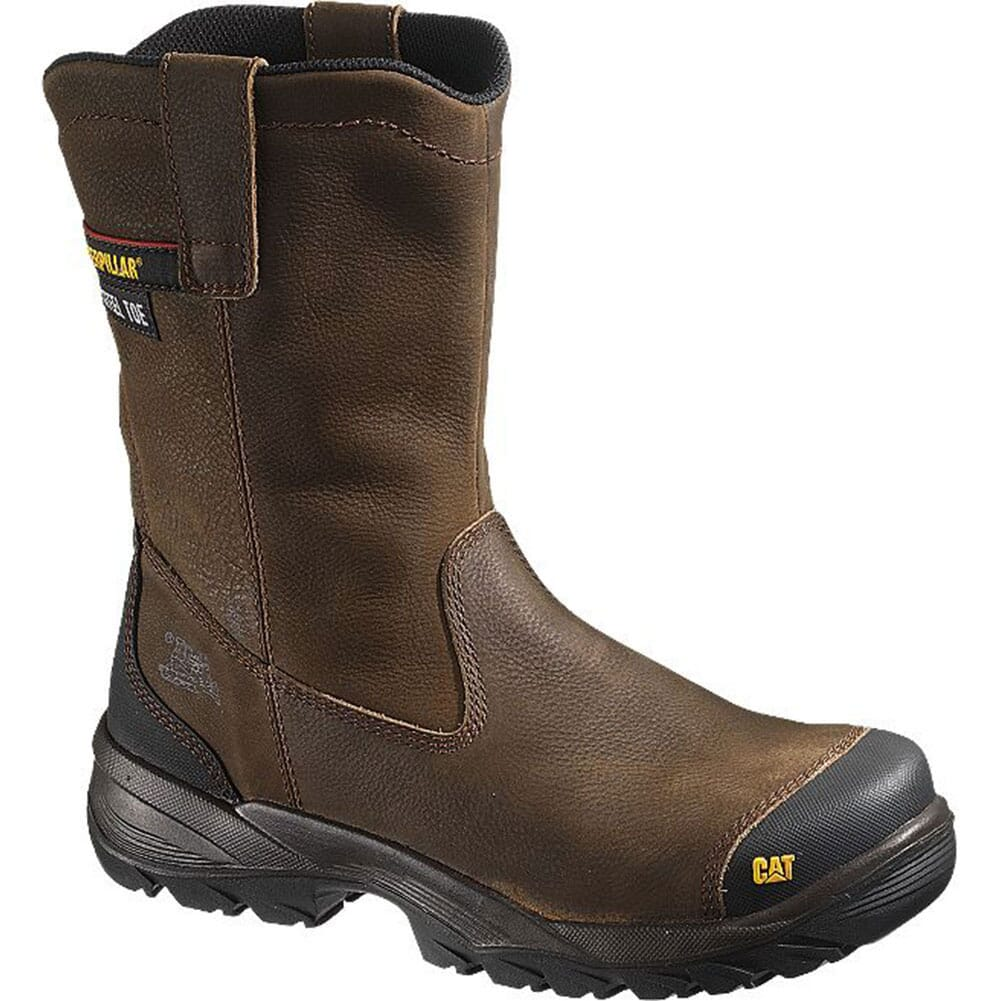 Image for Caterpillar Men's Spur Safety Boots - Brown from bootbay