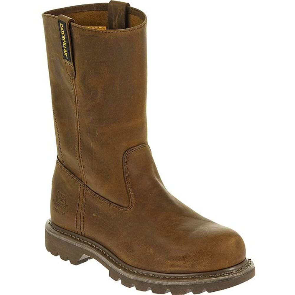 Image for Caterpillar Women's Revolver Safety Boots - Dark Beige from elliottsboots