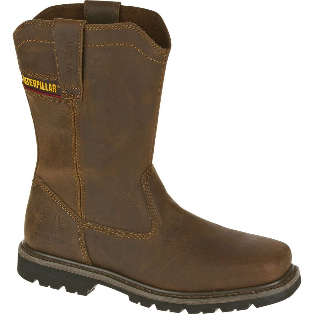 Image for Caterpillar Men's Wellston Safety Boots - Dark Brown from bootbay