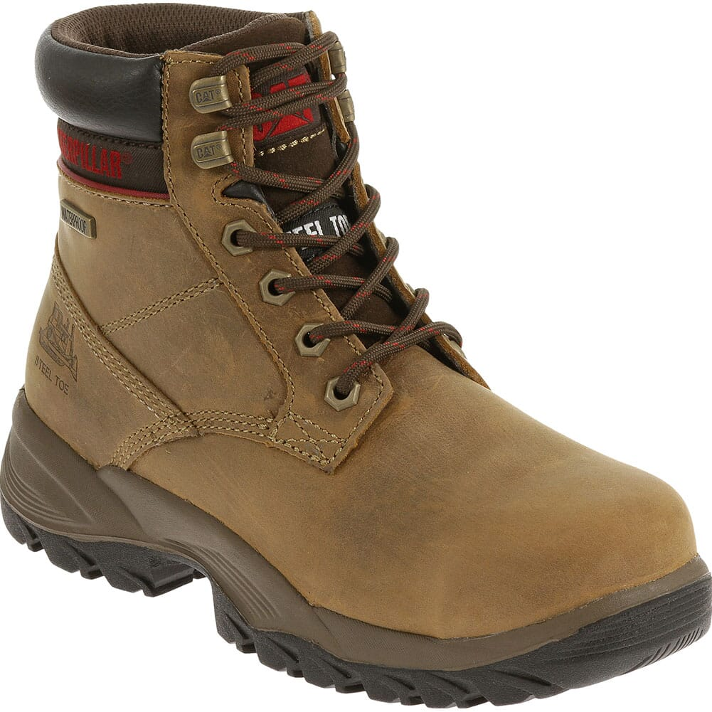 Image for Caterpillar Women's Dryverse WP Safety Boots - Dark Brown from bootbay