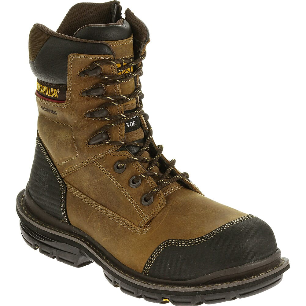 Image for Caterpillar Men's Fabricate Tough WP Safety Boots - Brown from bootbay