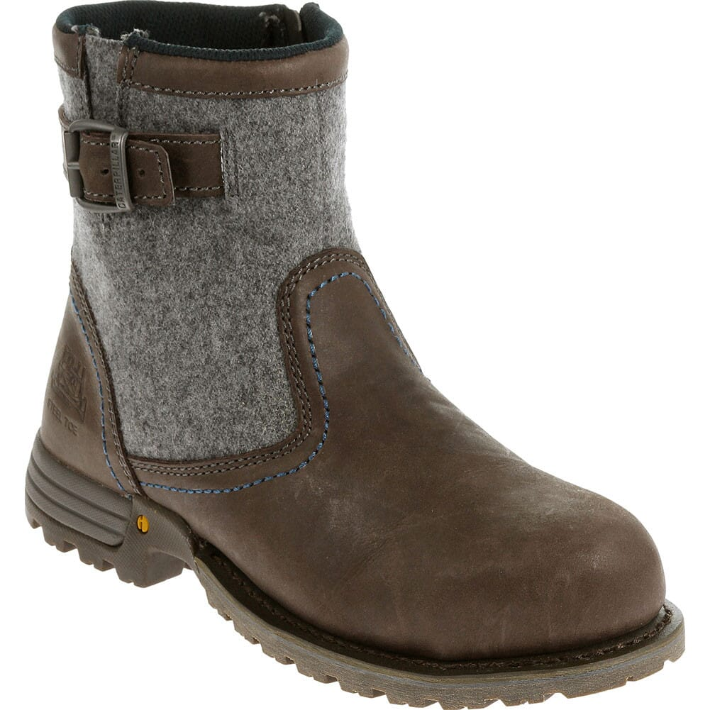 Image for Caterpillar Women's Jace Safety Boots - Mulch from bootbay