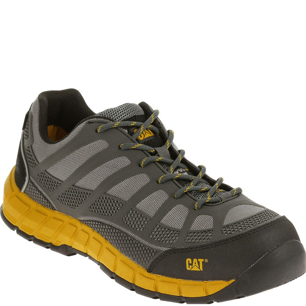 Image for Caterpillar Men's Streamline Safety Shoes - Grey/Yellow from bootbay