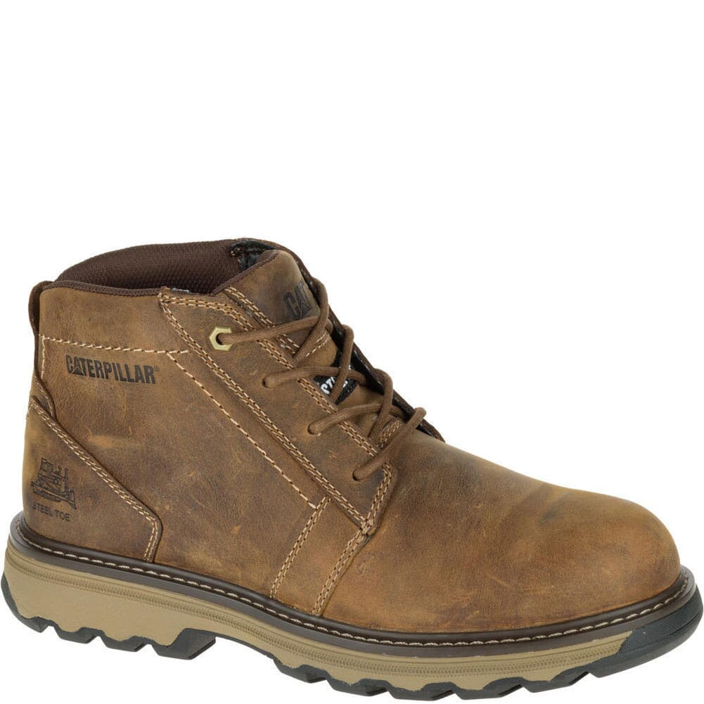 Image for Caterpillar Men's Parker ESD Safety Boots - Dark Beige from bootbay