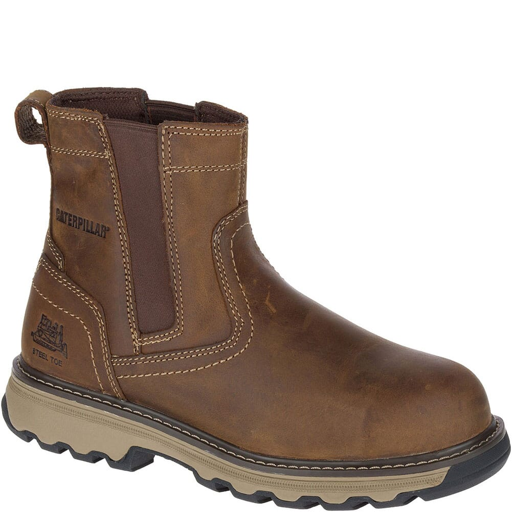 Image for Caterpillar Men's Pelton Safety Boots - Dark Beige from bootbay