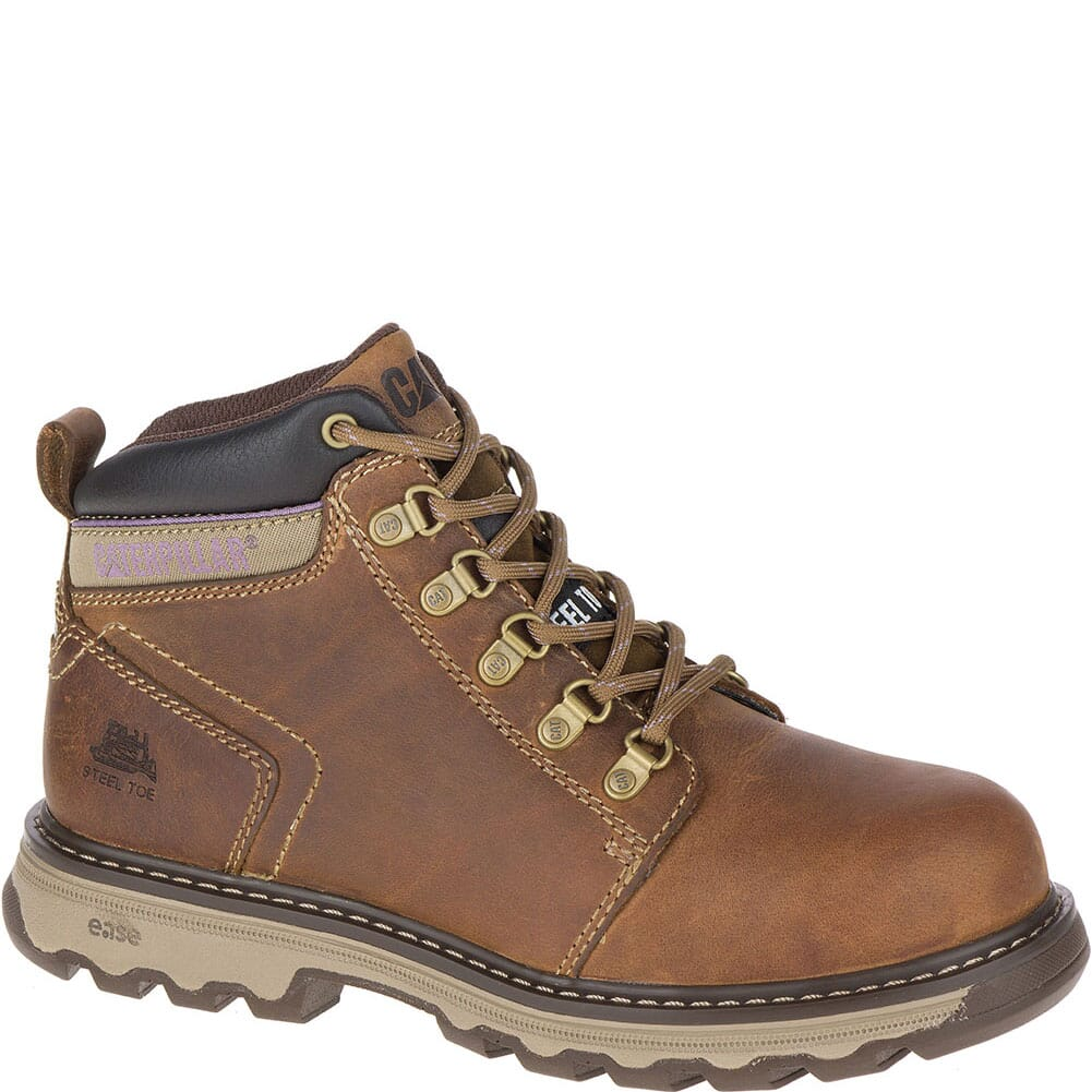 Image for Caterpillar Women's Ellie Safety Boots - Brown from bootbay