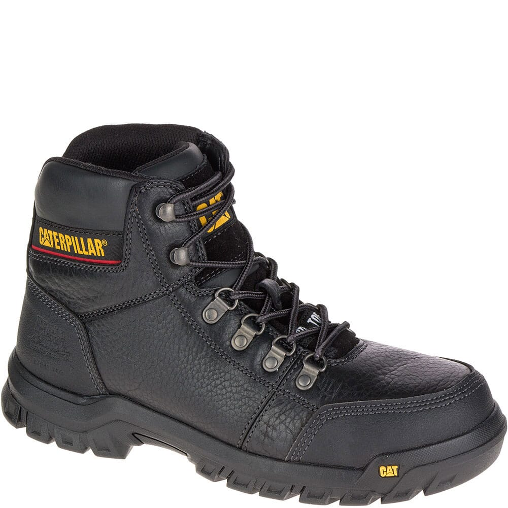 Image for Caterpillar Men's Outline Safety Boots - Black from bootbay