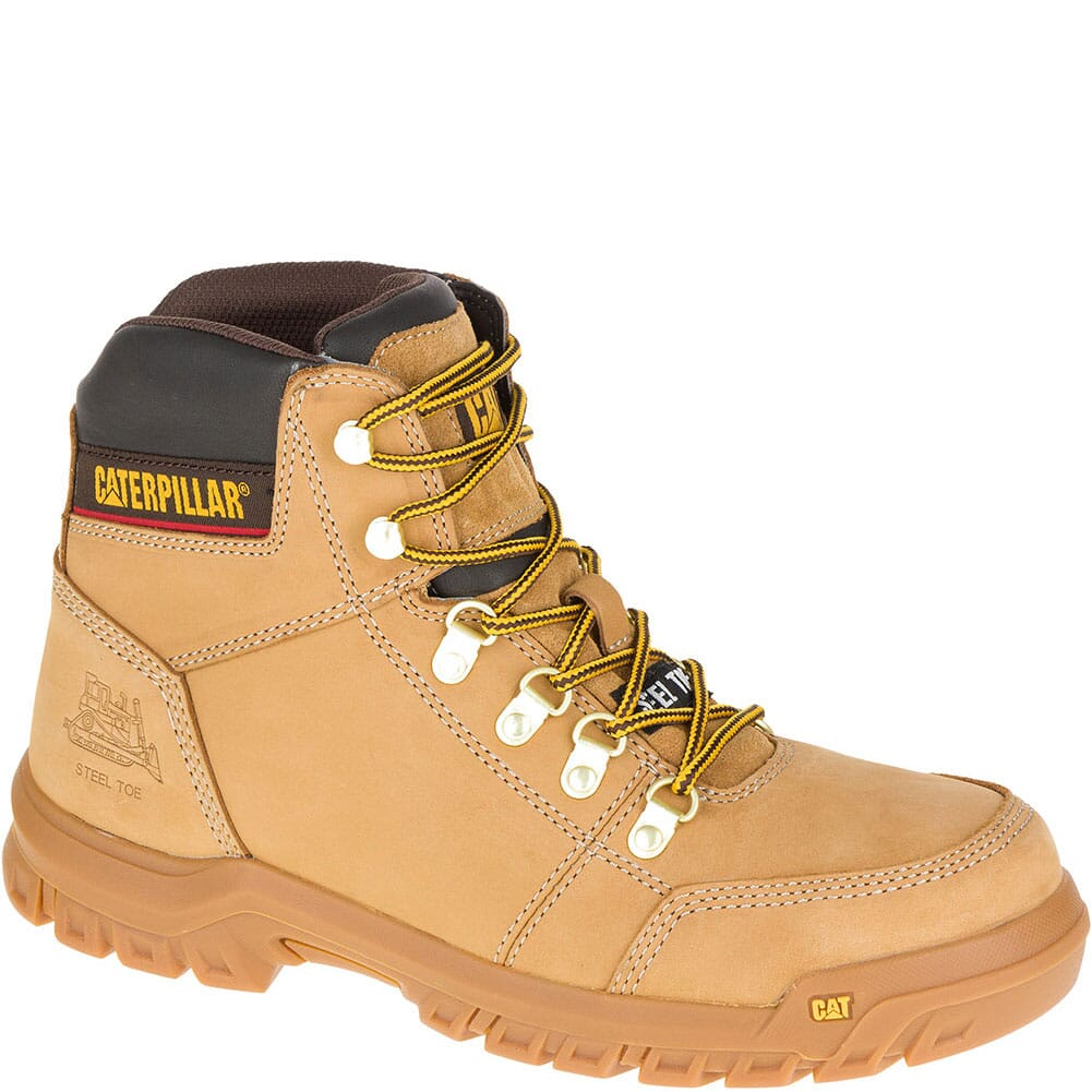 Image for Caterpillar Men's Outline Safety Boots - Honey Reset from bootbay