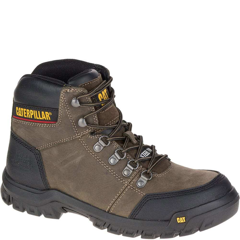 Image for Caterpillar Men's Outline Safety Boots - Dark Grey Gull from bootbay