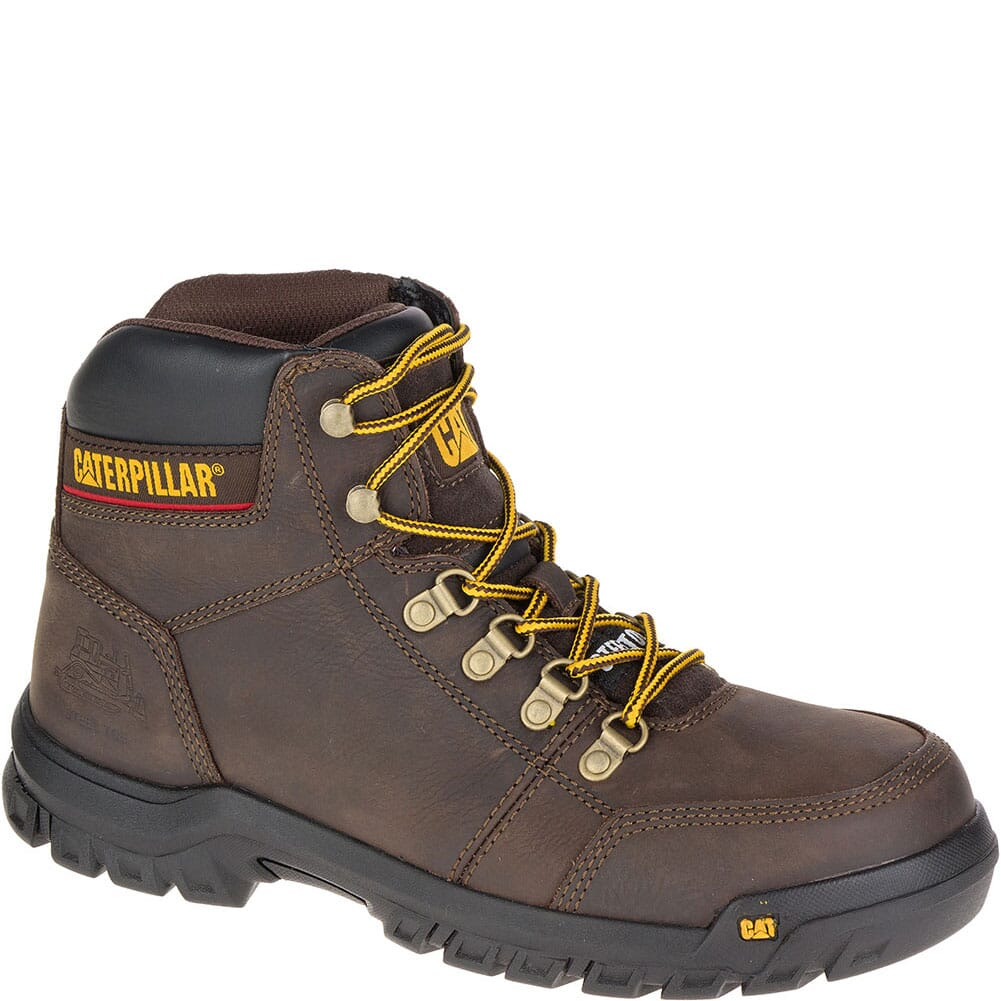 Image for Caterpillar Men's Outline Safety Boots - Seal Brown from bootbay
