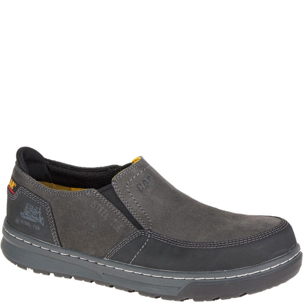 Image for Caterpillar Men's Valor Slip On Safety Shoes - Dark Shadows from bootbay