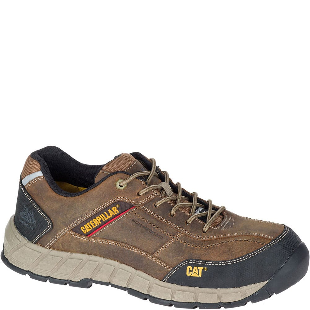 Image for Caterpillar Men's Streamline Safety Shoes - Dark Beige from bootbay
