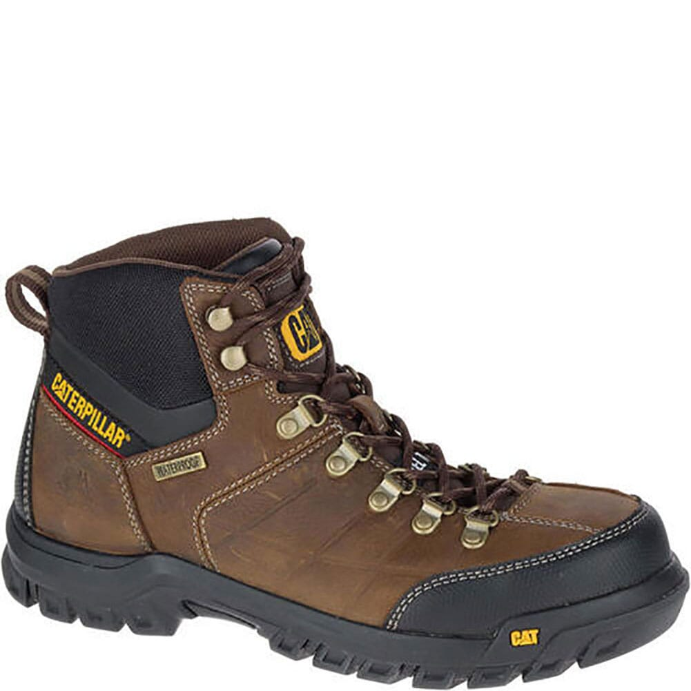 Image for Caterpillar Men's Thresold WP Safety Boots - Real Brown from bootbay