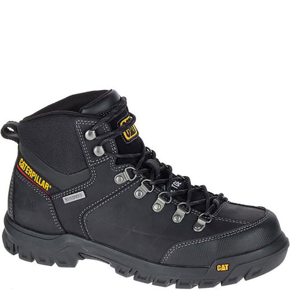 Image for Caterpillar Men's Thresold WP Safety Boots - Black from bootbay