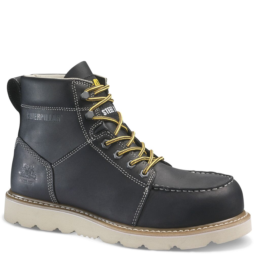 Image for Caterpillar Men's Tradesman Safety Boots - Black from bootbay
