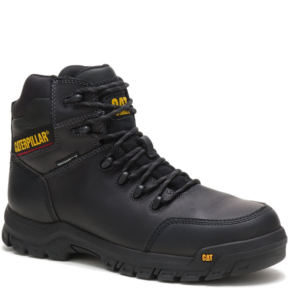 Image for Caterpillar Men's Resorption WP Comp Toe Safety Boots - Black from bootbay