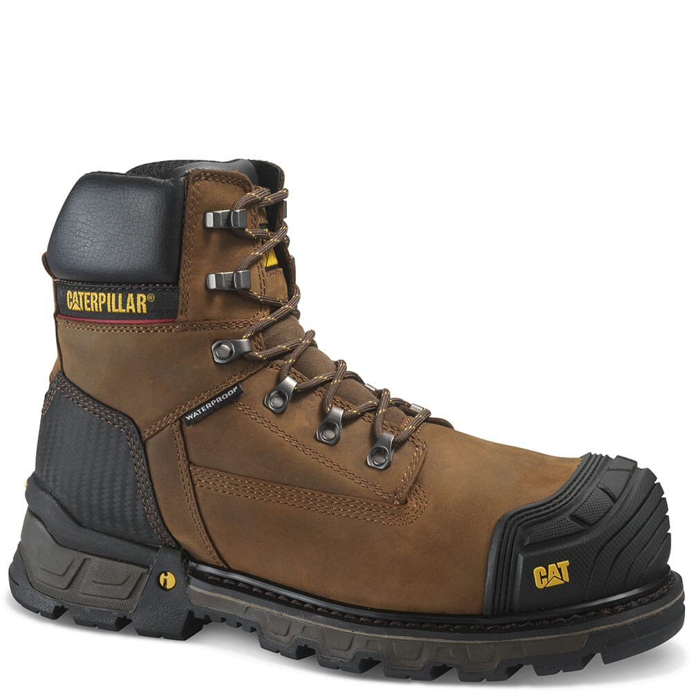 Image for Caterpillar Men's Excavator XL Safety Boots - Brown from bootbay