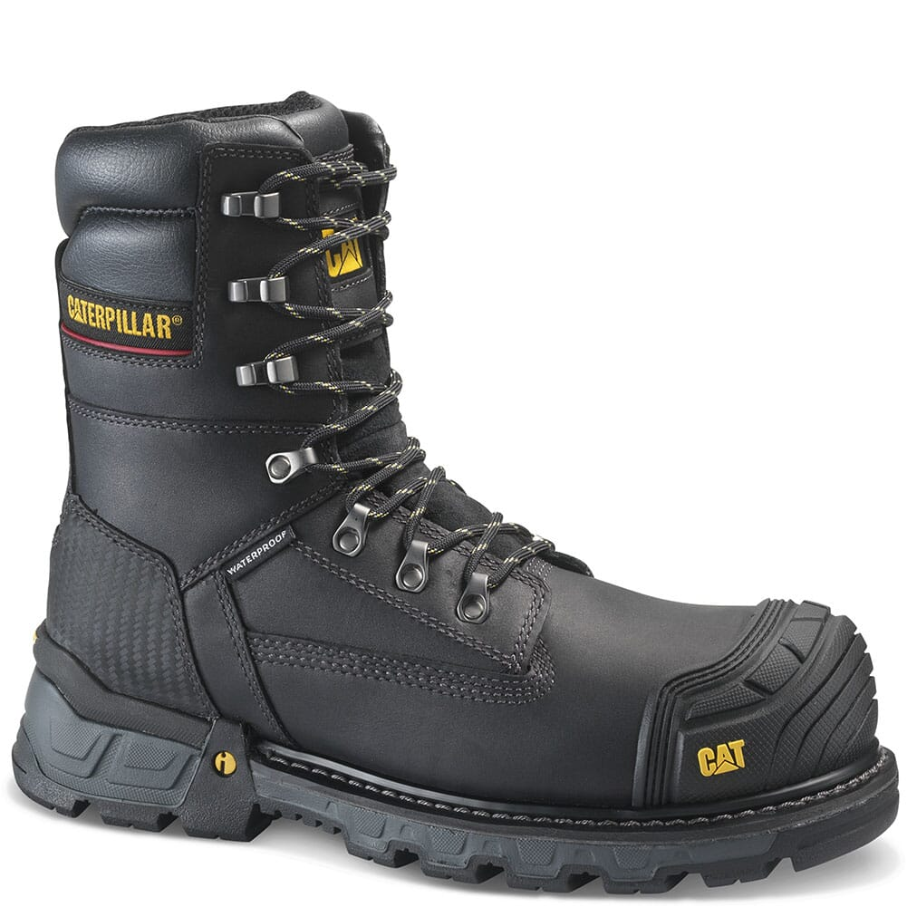 Image for Caterpillar Men's Excavator XL WP Safety Boots - Black from bootbay