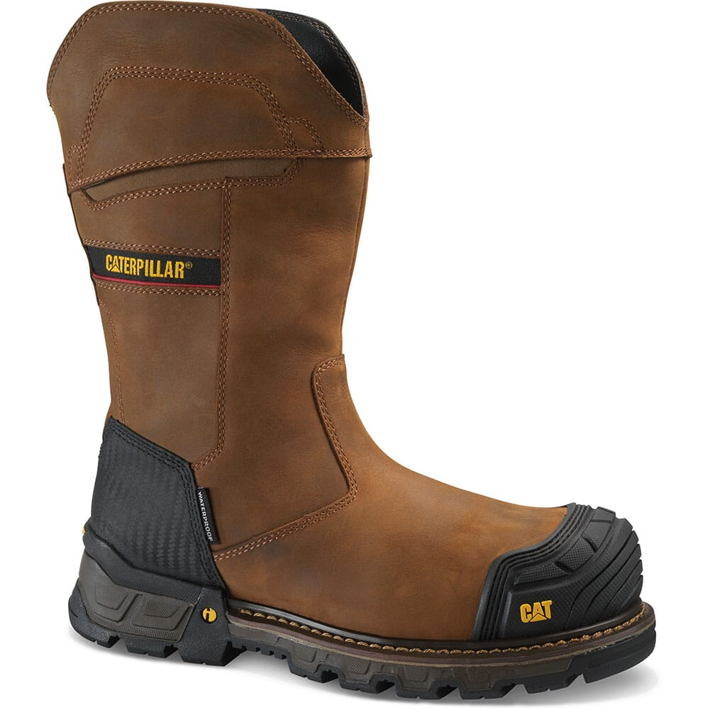 Image for Caterpillar Men's Excavator XL Safety Boots - Dark Brown from bootbay