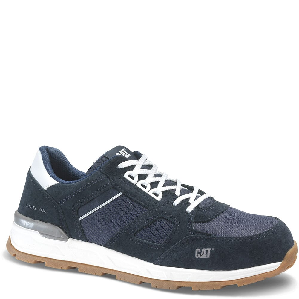 Image for Caterpillar Men's Woodward EH Safety Shoes - Blue Nights from bootbay