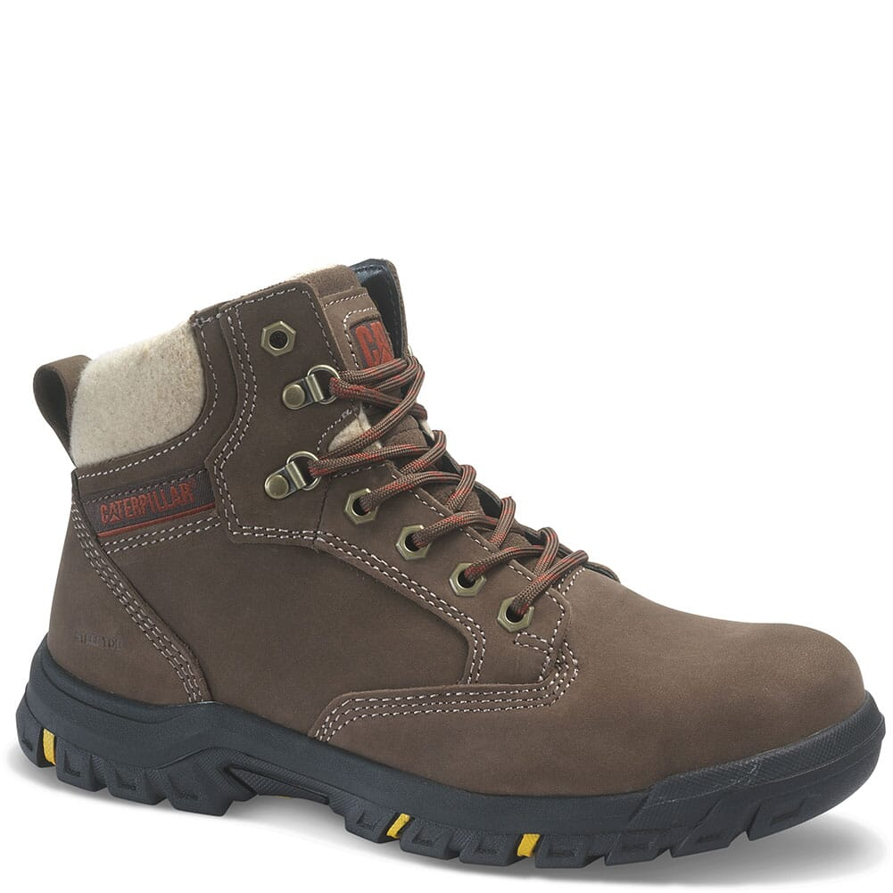 Image for Caterpillar Women's Tess Safety Boots - Chocolate from bootbay