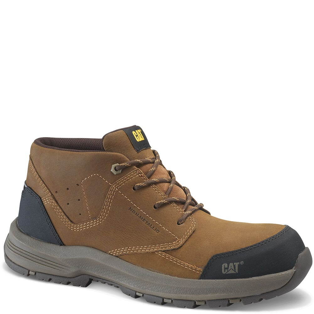 Image for Caterpillar Men's Resolve Mid Safety Boots - Brown from bootbay