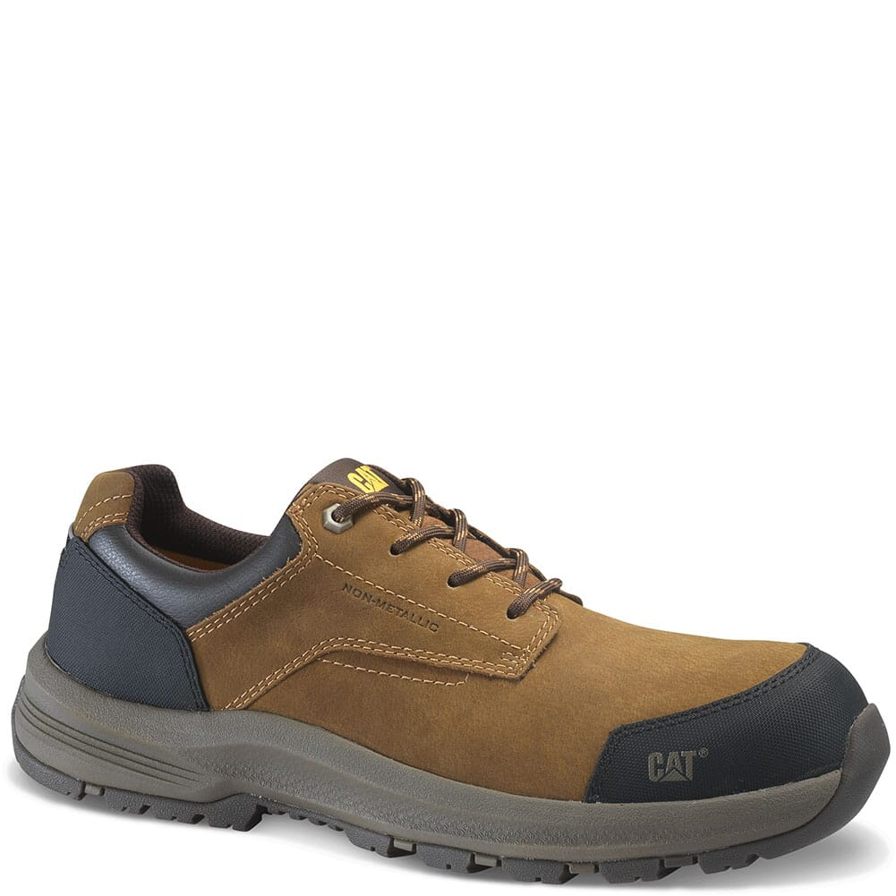 Image for Caterpillar Men's Resolve Low Safety Boots - Brown from bootbay