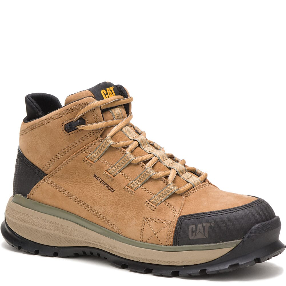 Image for Caterpillar Men's Utilize WP Safety Boots - Sand from bootbay