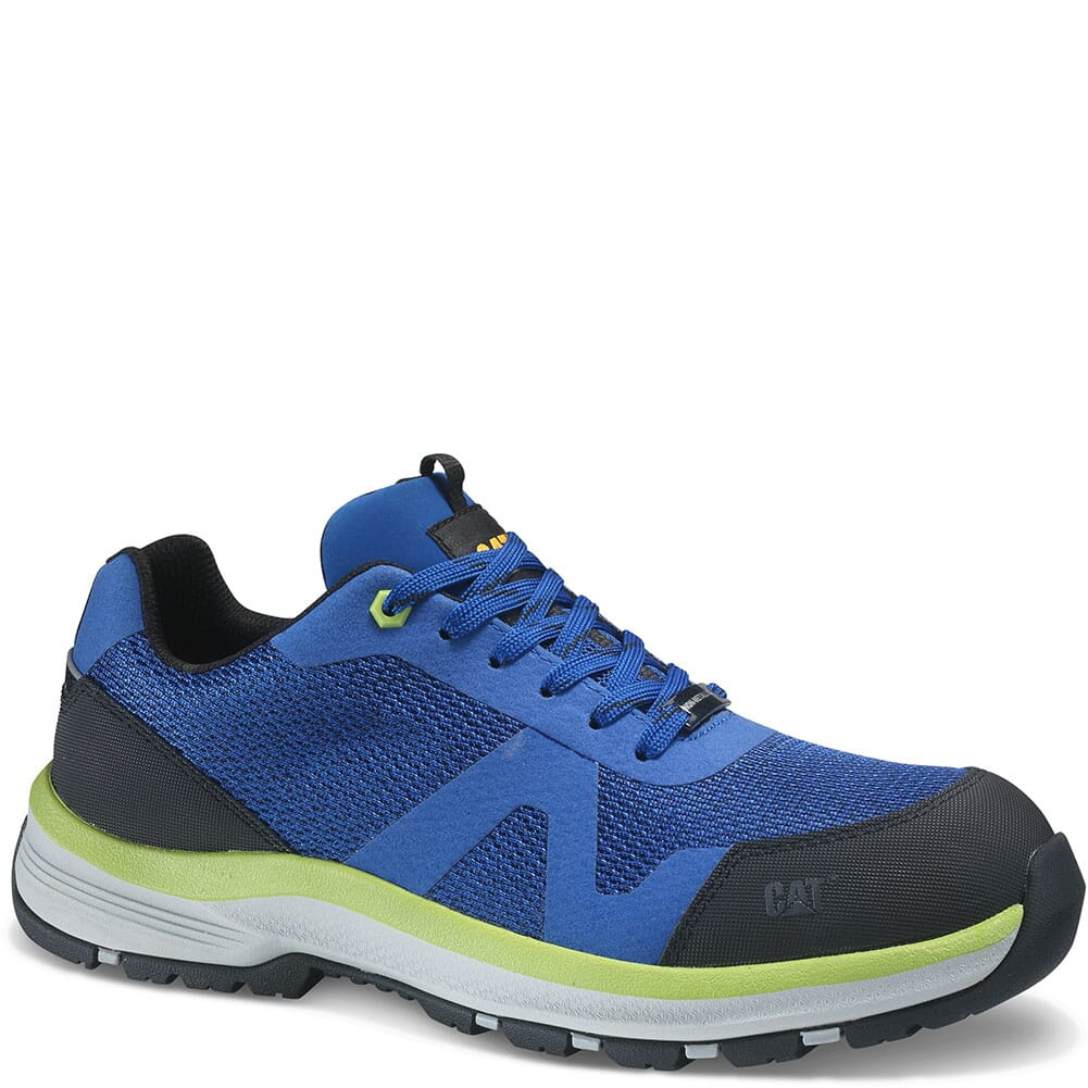 Image for Caterpillar Men's Passage Safety Shoes - Blue from bootbay