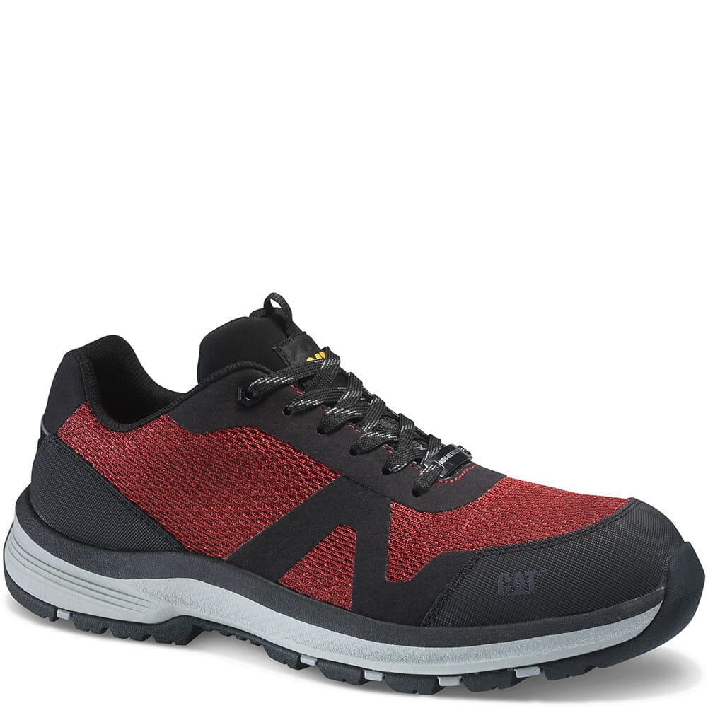 Image for Caterpillar Men's Passage Safety Shoes - Regal Red from bootbay
