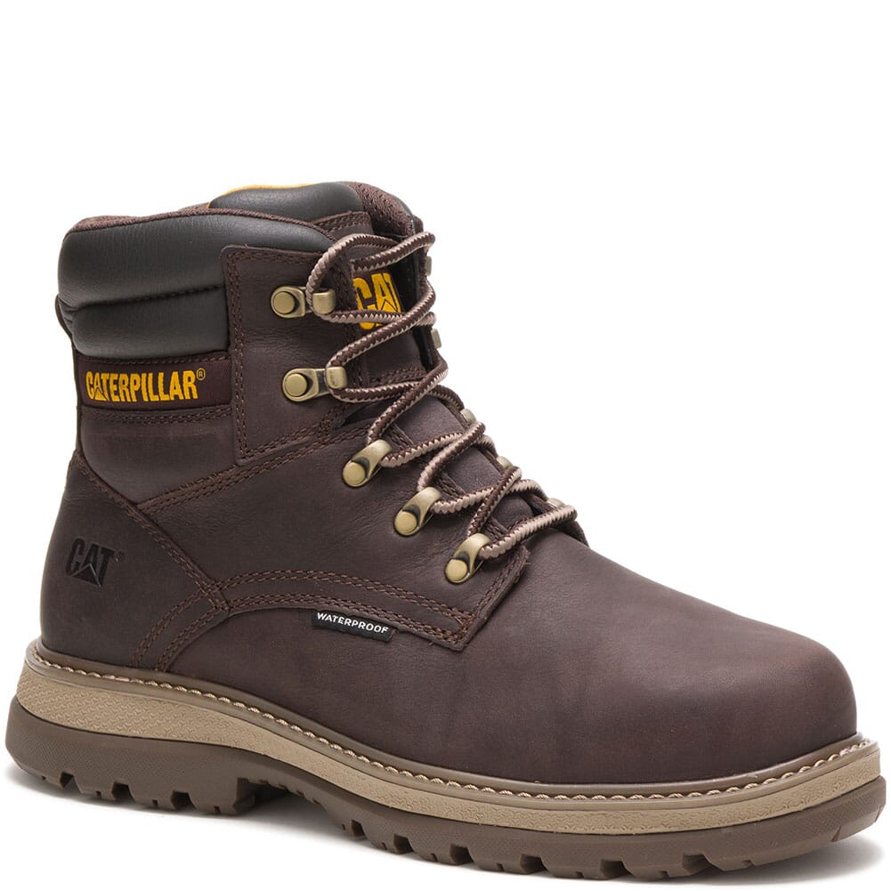 Image for Caterpillar Men's Fairbanks WP Safety Boots - Mulch from bootbay
