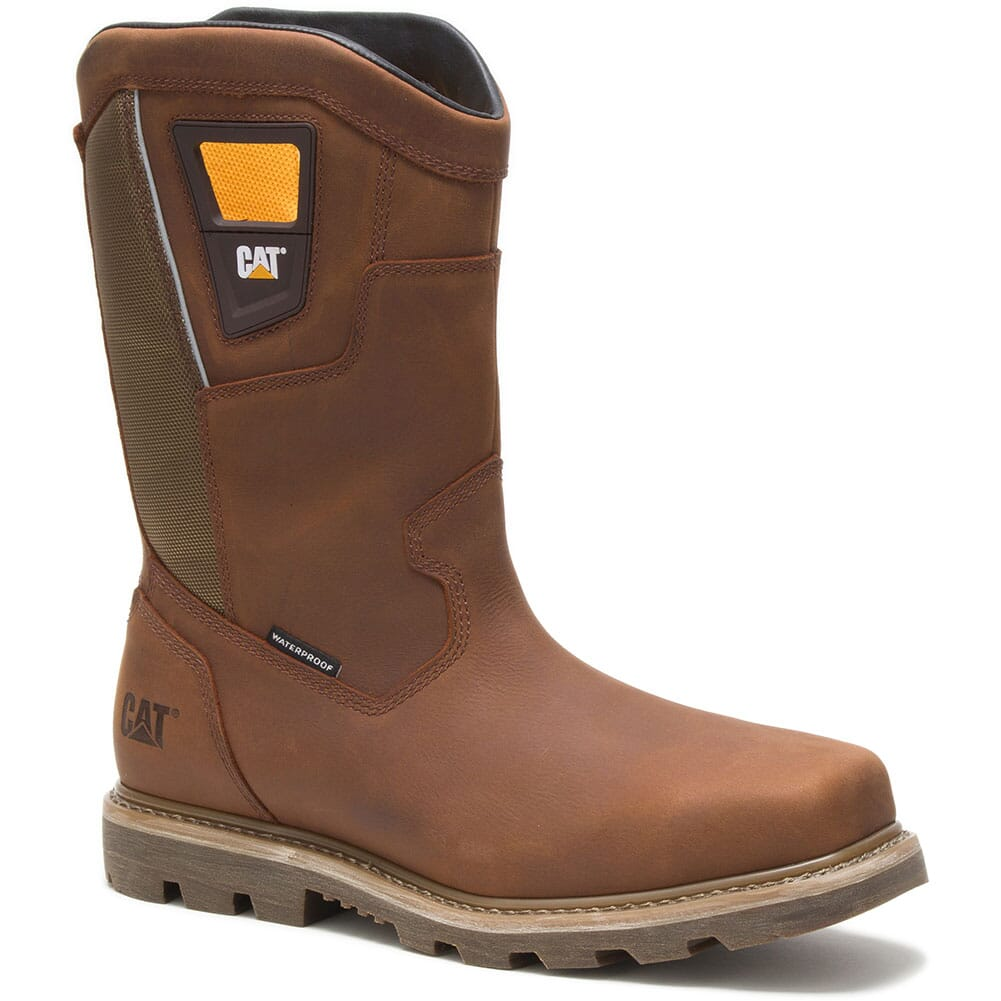 Image for Caterpillar Men's Stillwell Pull On WP Safety Boots - Butterscotch from bootbay