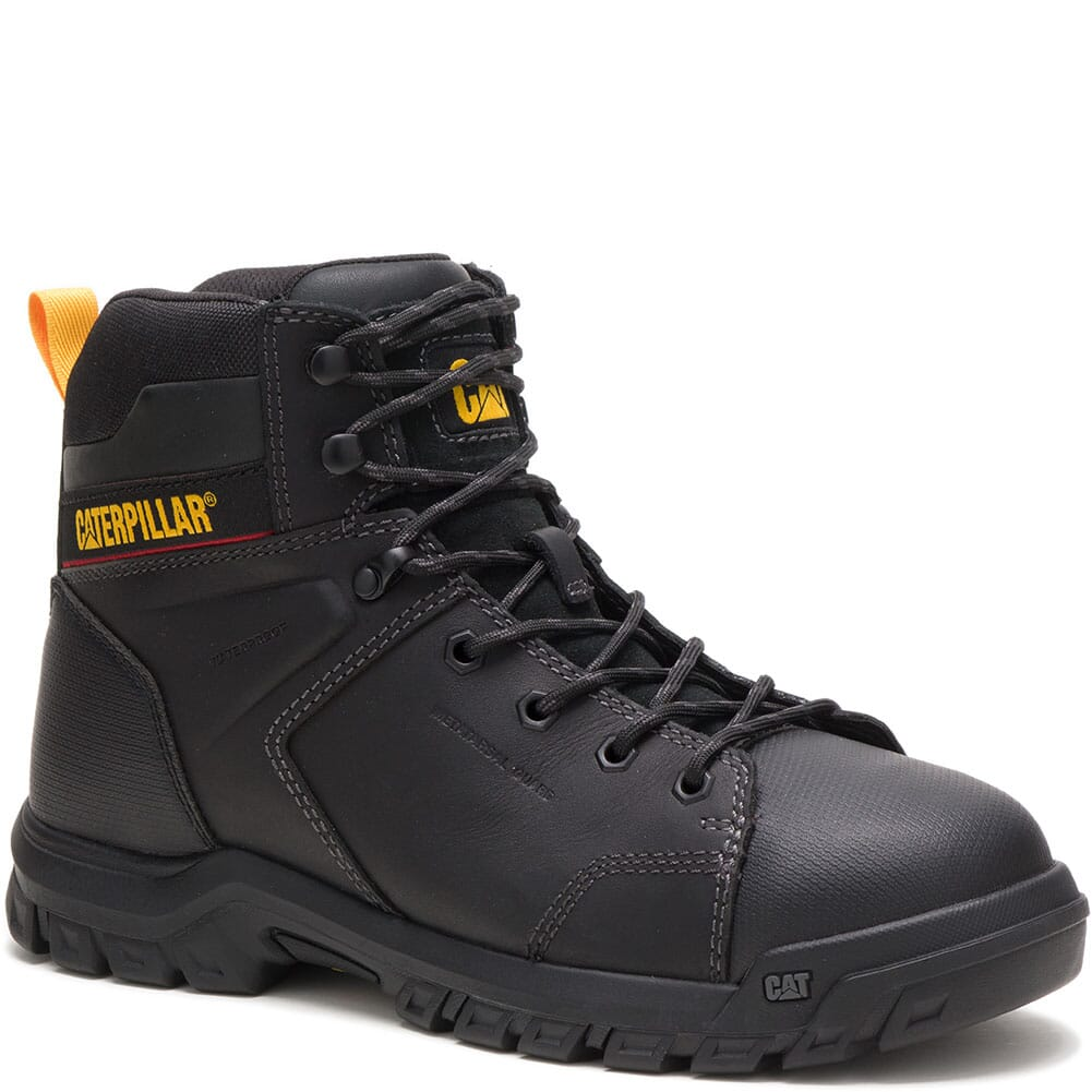 Image for Caterpillar Men's Wellspring WP Met Guard Safety Boots - Black from bootbay