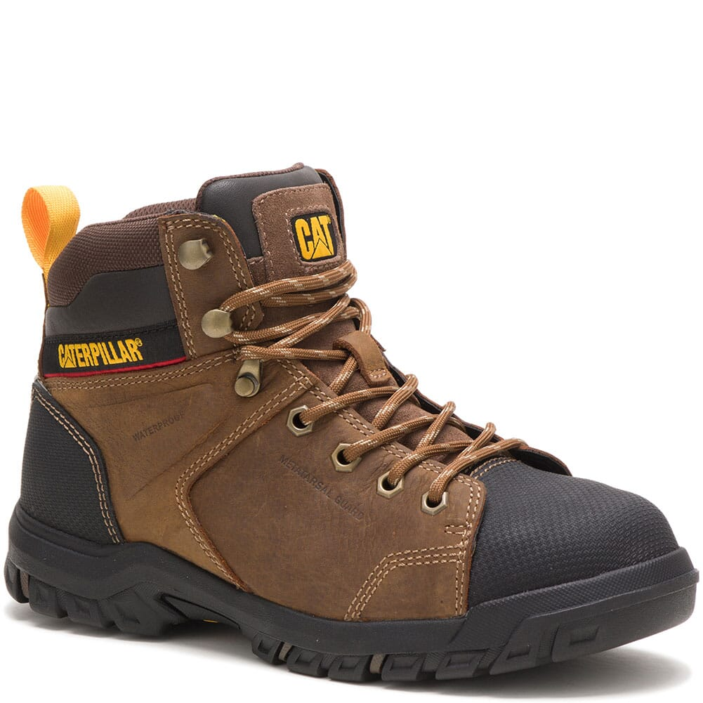 Image for Caterpillar Women's Wellspring WP Met Guard Safety Boots - Real Brown from bootbay