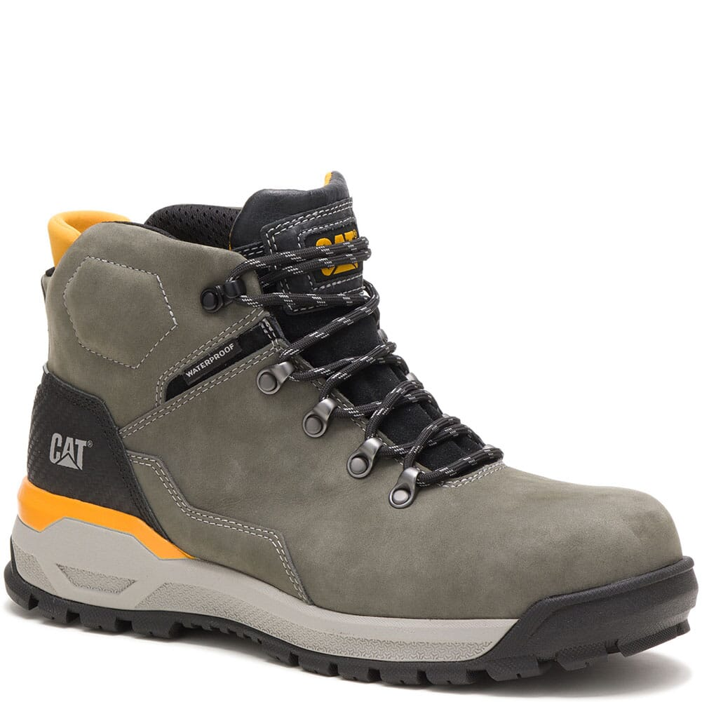 Image for Caterpillar Men's Kinetic Ice+ WP WP Safety Boots - Gunmetal from bootbay