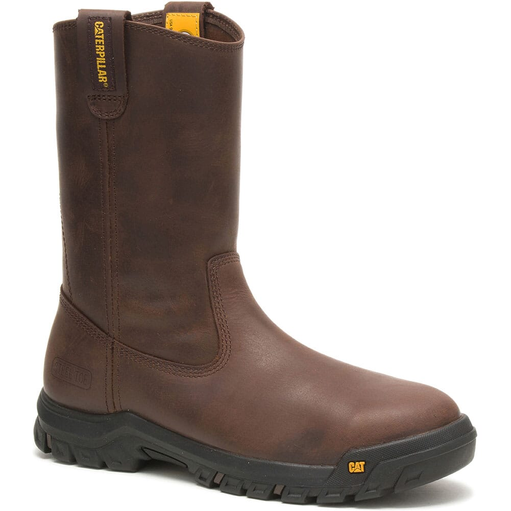 Image for Caterpillar Men's Drawbar Pull On Safety Boots - Summer Brown from bootbay