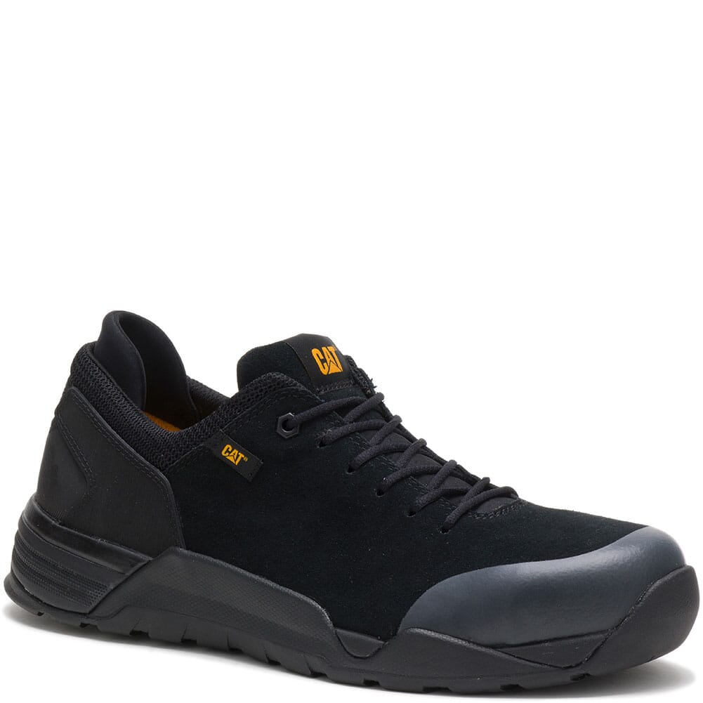 Image for Caterpillar Men's Sprint Suede Safety Shoes - Black from bootbay