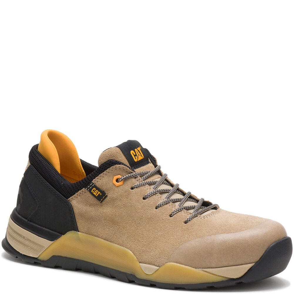 Image for Caterpillar Men's Sprint Suede Safety Shoes - Cornstalk from bootbay