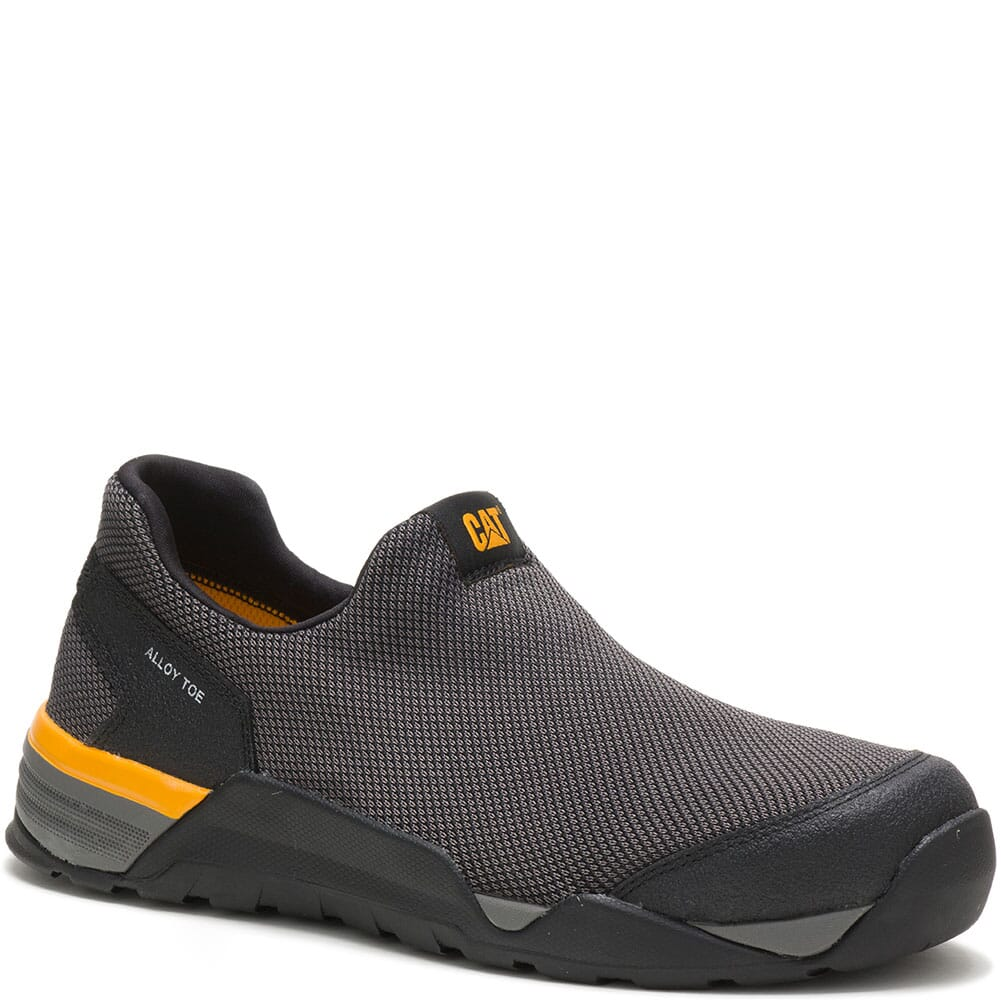 Image for Caterpillar Men's Sprint Suede Slip On Safety Shoes - Black from bootbay