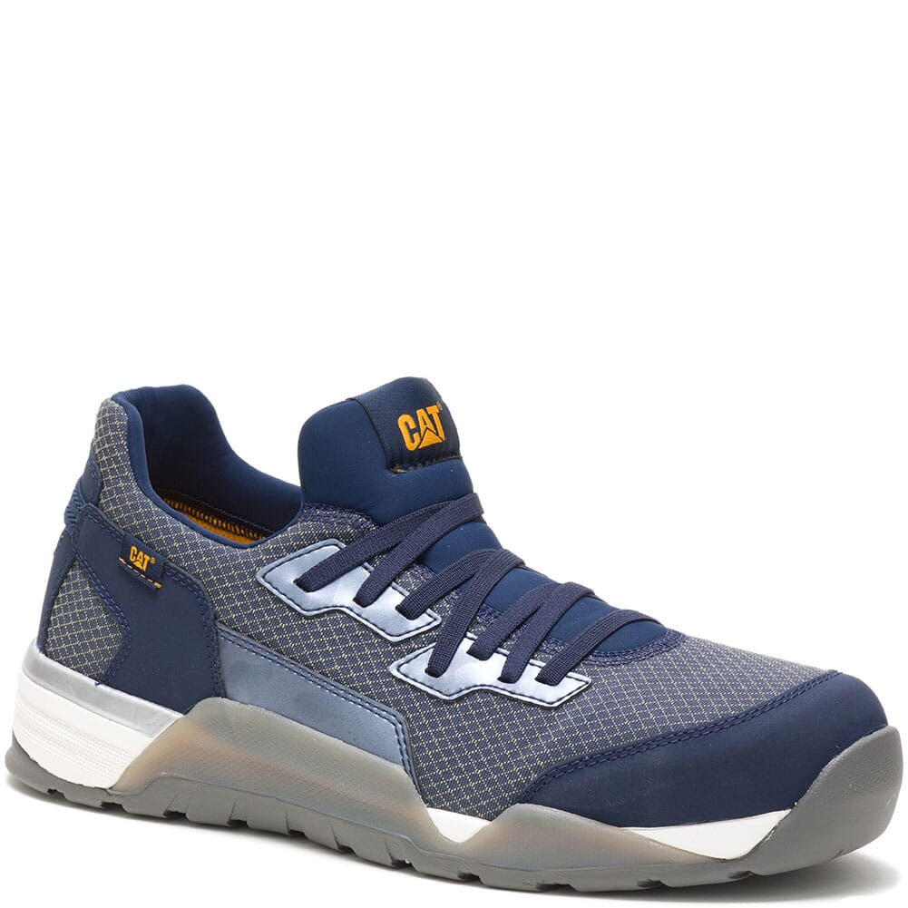 Image for Caterpillar Men's Sprint Textile Safety Shoes - Dress Blue from bootbay