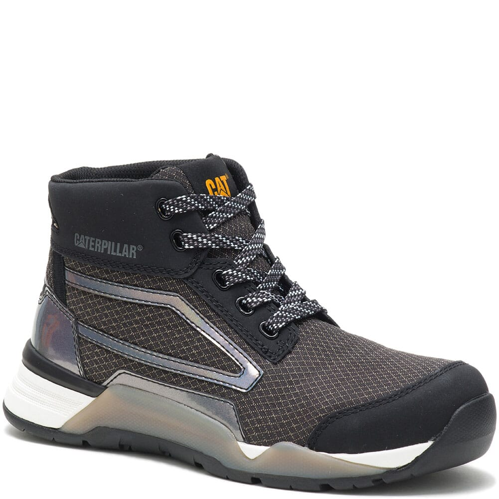 Image for Caterpillar Women's Sprint Textile Mid Safety Shoes - Black from elliottsboots