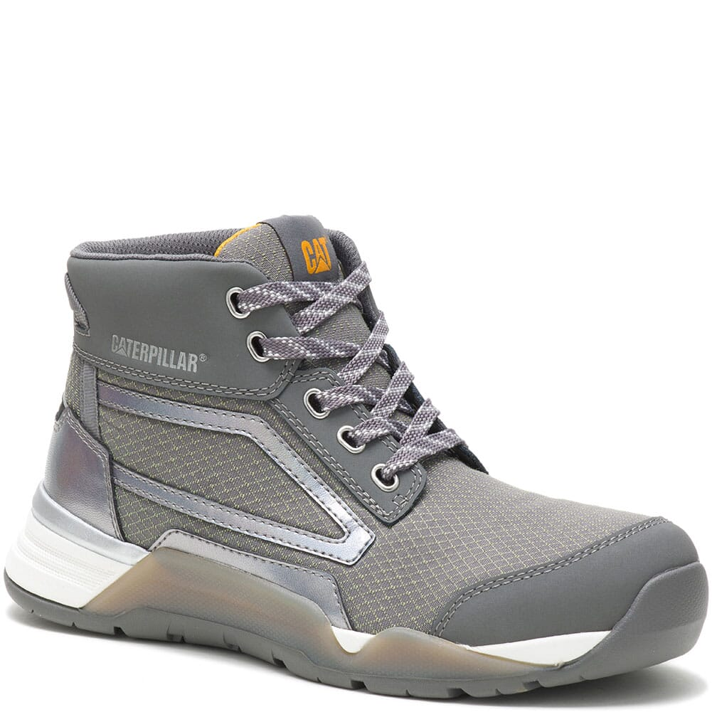 Image for Caterpillar Women's Sprint Textile Mid Safety Shoes - Charcoal from bootbay