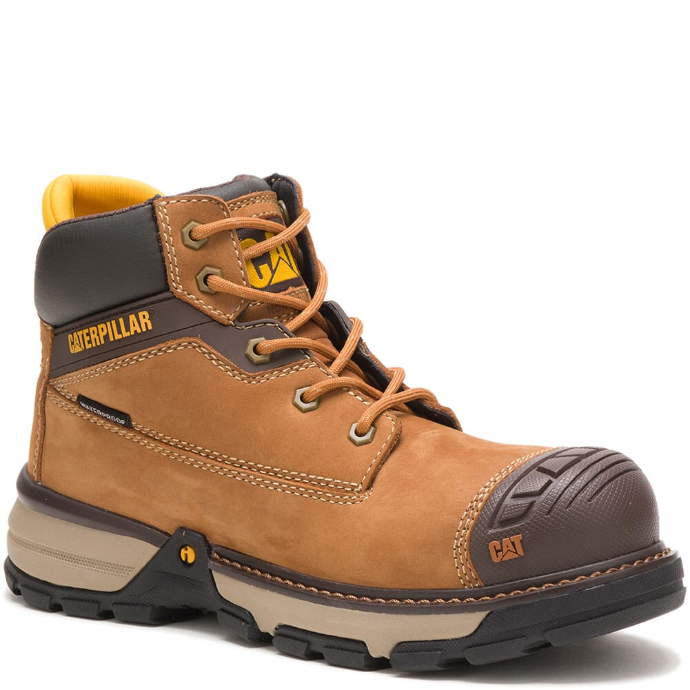 Image for Caterpillar Women's Excavator Superlite WP Safety Boots - Sudan Brown from bootbay