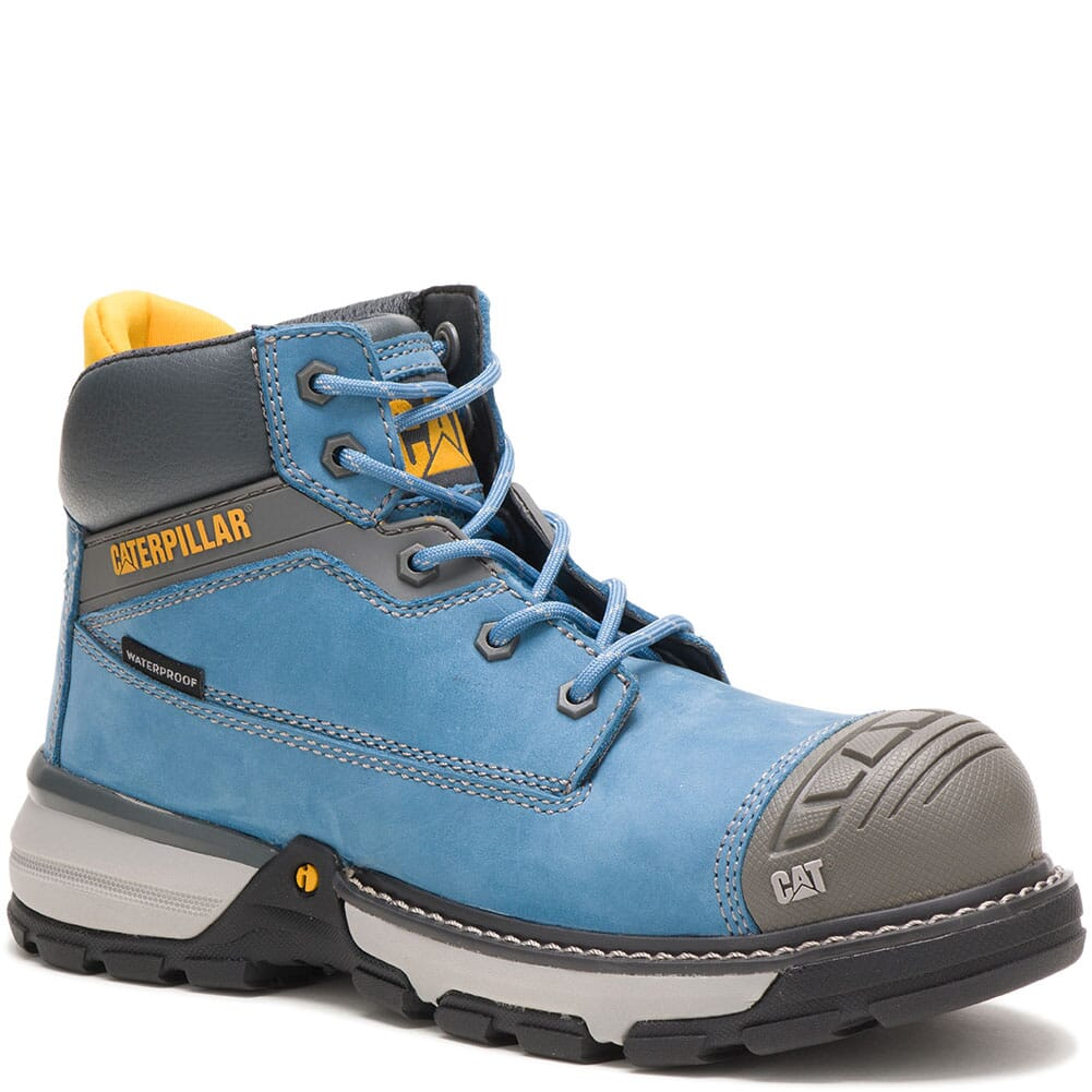 Image for Caterpillar Women's Excavator Superlite WP Safety Boots - Blue Heaven from bootbay