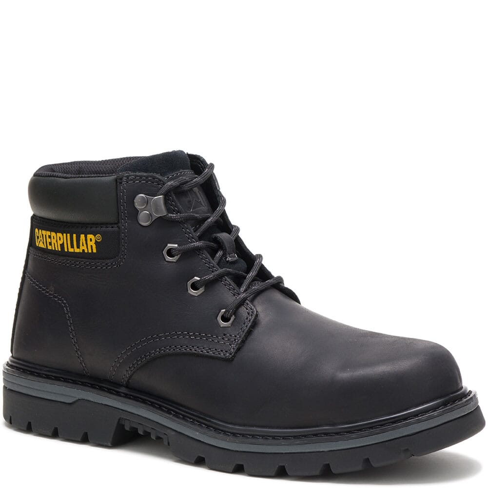 Image for Caterpillar Men's Outbase WP Mid Safety Boots - Black from bootbay