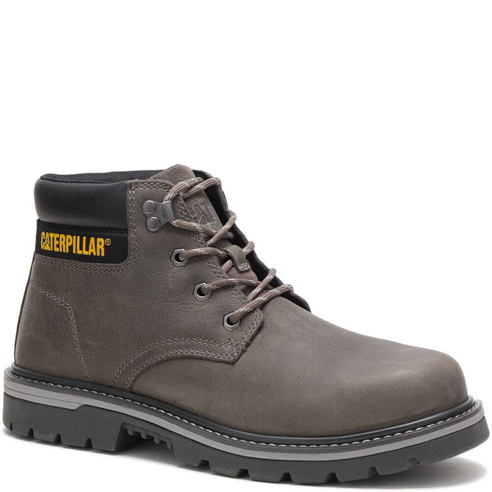 Image for Caterpillar Men's Outbase WP Mid Safety Boots - Charcoal Grey from bootbay