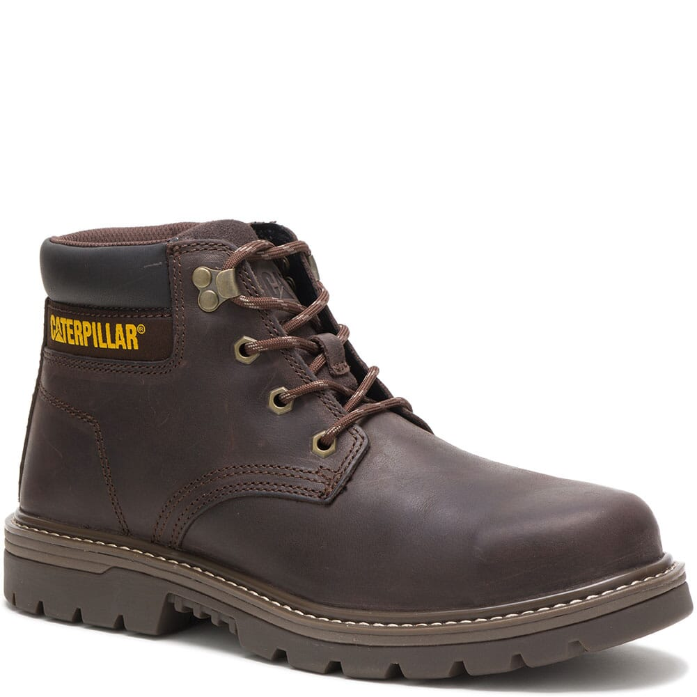 Image for Caterpillar Men's Outbase WP Mid Safety Boots - Coffee Bean from bootbay
